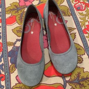 Merrell Suede Flats.  Size 7.5